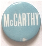 McCarthy Blue and White Celluloid