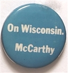 McCarthy On Wisconsin