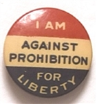 Against Prohibition for Liberty
