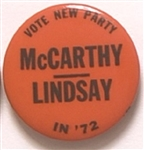 McCarthy and Lindsay the New Party