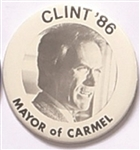 Clint Eastwood for Mayor of Carmel