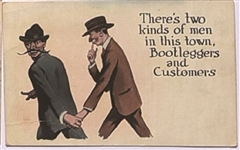 Bootleggers and Customers Postcard