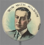 Win With Wilson Colorful Celluloid