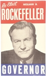 Re-Elect Nelson Rockefeller Governor