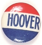 Hoover Red, White, Blue Celluloid