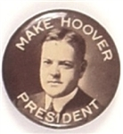 Hoover for President Early Photo