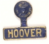 Hoover Blue and Gold Tab