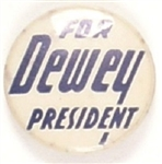 Dewey for President Unusual Lettering