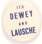Its Dewey and Lausche Ohio Coattail