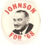 Lyndon Johnson for 68