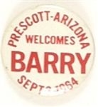 Prescott, Arizona, Welcomes Barry Goldwater