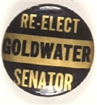 Re-Elect Goldwater Senator