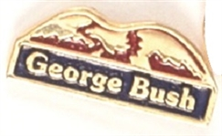 George Bush Eagle Pin