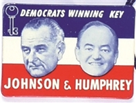 Johnson, Humphrey Winning Key Jugate
