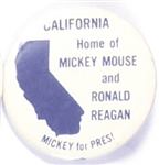 California Home of Ronald Reagan and Mickey Mouse