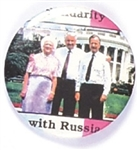 Bushes with Yeltsin White House Pin