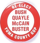 Bush, McCain Yuma County Coattail