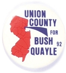 Union County, N.J. for Bush, Quayle