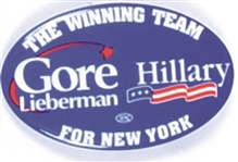Gore, Clinton New York Coattail