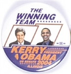 Kerry, Obama Winning Team Illinois Coattail
