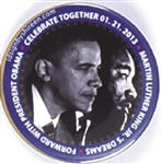 Obama, Martin Luther King Inaugural Pin