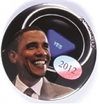 Obama David Russell, Unique Pin