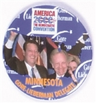 Gore, Lieberman Minnesota Delegation