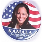 Kamala Harris for President Flag Pin