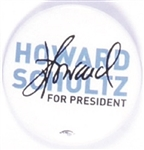Howard Schultz for Presidents