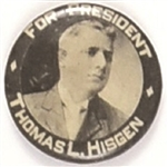 Thomas Hisgen Independence Party