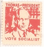 Norman Thomas Socialist Stamp