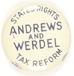 Andrews and Werdel States Rights Party