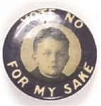 Vote No for My Sake, Young Boy