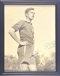 "George ""Poppy"" Bush Signed 1942 Photo"