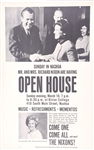 Nixon Open House New Hampshire Poster