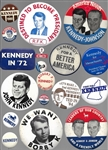 Group of 103 Kennedy Brothers Pins