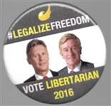 Legalize Freedom, Johnson and Weld
