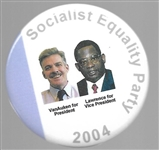 Van Auken, Lawrence Socialist Equality Party