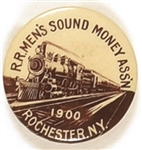 McKinley Rochester, NY, Railroad Men's Sound Money Assn