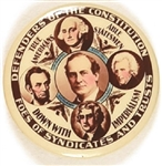 Bryan Defenders of the Constitution Rare, Beautiful Celluloid