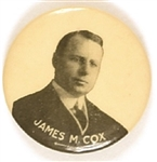 James M. Cox for President Picture Pin