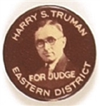 Harry Truman for Eastern District Judge