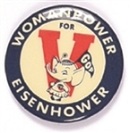Woman Power for Eisenhower Small Elephant