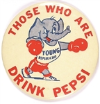 Those Who Are Young Republicans Drink Pepsi