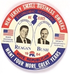 Reagan, Bush New Jersey Small Business Owners Jugate