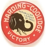 Harding Republican League of Massachusetts Victory