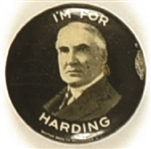 Im for Harding Celluloid