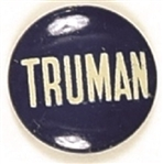 Truman Blue and White Litho