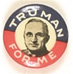 Harry Truman for Me