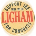 Eisenhower, Ligham for Congress New Jersey Coattail